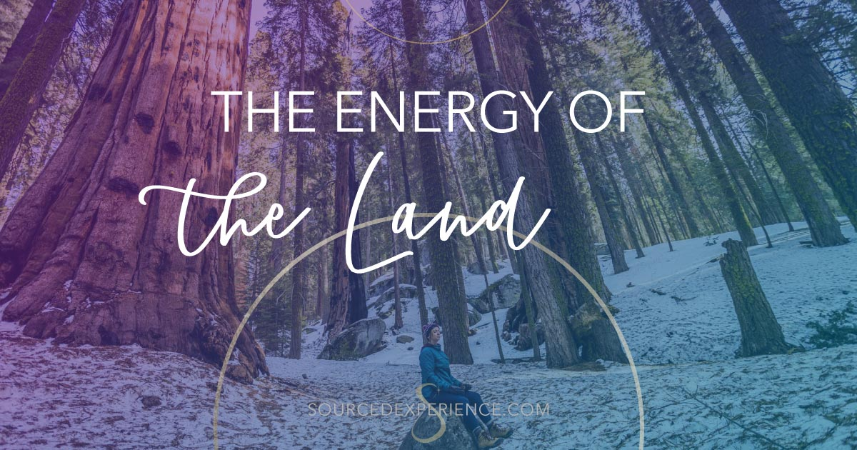 the energy of the land