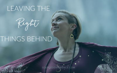 Leaving the Right Things Behind